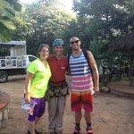 Arturo was our amazing Zipline guide!!