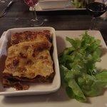 Lasagna- perfectly prepared
