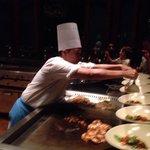 Dîner at the japanese restaurant