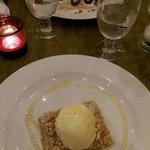 Baklava and Bailey's & chocolate cheesecake