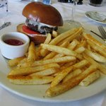Filet Mignon Burger with Cajun Fries