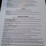 Take a look at the menu