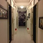 Hallway to our rooms