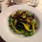 Chicken and mango salad- gorgeous