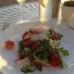 chicory and arugula salad