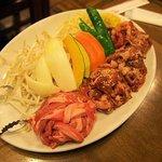 野菜と4種類の肉