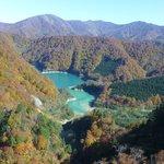 ゴンドラからみた田代湖