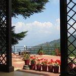 Lovely open terrace