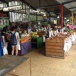 Like the tropical fruits the market has