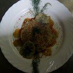 Spaghetti sarde e fiocchetto selvatico
