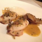 Excellent combination of squid and porcini ! Yummy !!