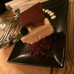 white choc cheesecake... fantastic..