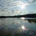 view from Finnhamn