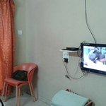 LCD TV inside the room with all Channels