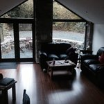 Amazing views from inside converted stable