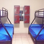 mixed dorm has double and single beds available
