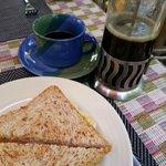 breakfast (part of it)