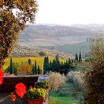 View from Fattoria Cinciano