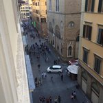 Via Del Cazaouli from Room 2