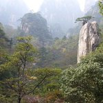 Huangshan China Gechuanjian Mountain