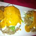 Curried Eggs Benedict