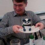 Tasty panda for dessert
