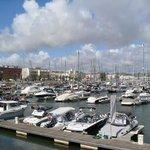 The marina at Lagos