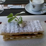 mille-feuille  - so light...a must!!...made on site - La Bergerie Oct 2014