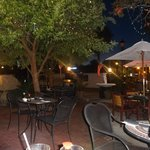 Great outdoor patio dining and live music!