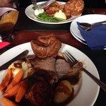 Sunday beef dinner