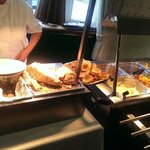 Linda serving the great carvery