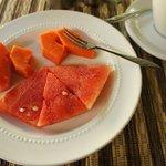 завтрак Sehati Guesthouse