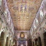 Soffitto della Basilica del Carmine