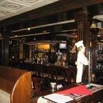 Neat bar area