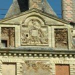 Détail de la façade du château de Brissac