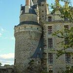 Une tour du château de Brissac