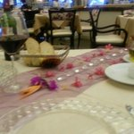Our special table decorated by Juan Carlos and Santiago