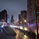 Pudong Avenue at Night - 500 meters from The Eton