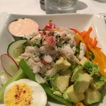 Small Crab Louis Salad- fantastic!!