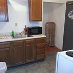 Full kitchens are wonderful for construction  crews...what a nice feature!!!
