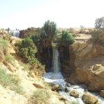 Catarata Al Rayan en Oasis de Al Fayum