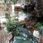 Atrium water feature