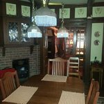 The dining room, where Gerry serves his gourmet breakfasts.