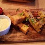 Polenta and Olive Chip's