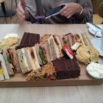 This is an afternoon tea for two October 2014