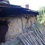 小鹿田焼を焼く登り窯です