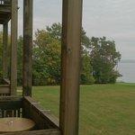 Vue du balcon en regardant sur la gauche