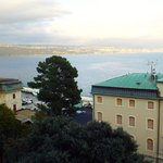 View towards Rijeka from room