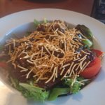 Thai beef salad from the bistro