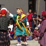 Colorful festival costumes
